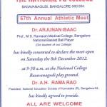 67th Annual Athletic Meet